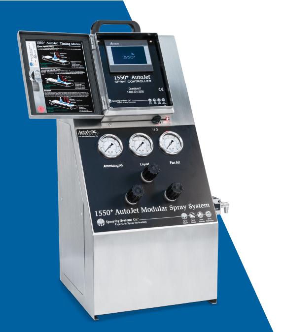 pulverização-precisa-sistema-modular-pulverização AutoJet® 1550+